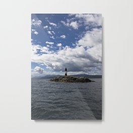 Lighthouse_Ushuaia #2 Metal Print