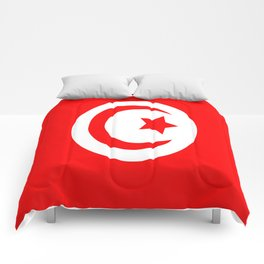 Flag of Tunisia Comforters