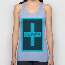 STAY POSITIVE-VOODOO Unisex Tank Top