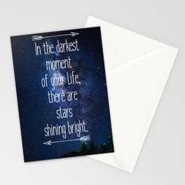 Stars Quote Stationery Cards