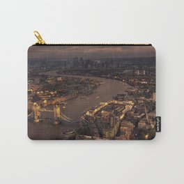 Thames Meander Cityscape Carry-All Pouch