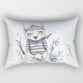 Exploring The Thaw Rectangular Pillow