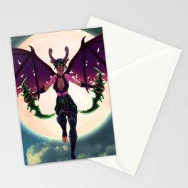 Demon Hunter Stationery Cards