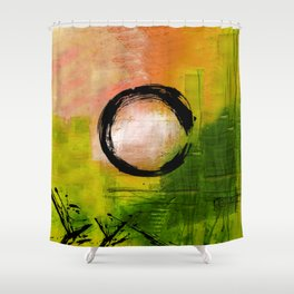 Enso No.MM13I by Kathy Morton Stanion Shower Curtain
