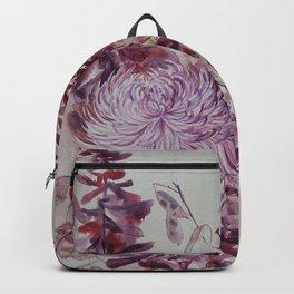 October Flowers Backpack