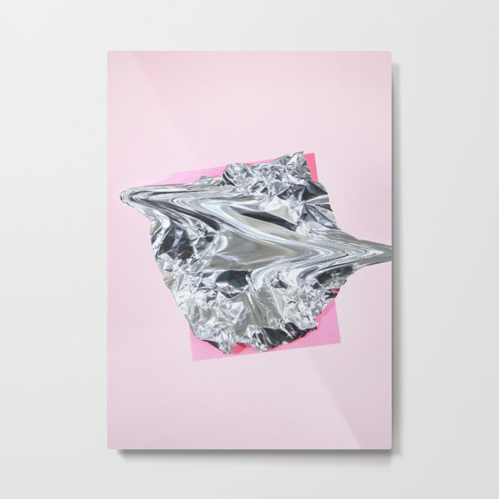 cellophanexpink Metal Print