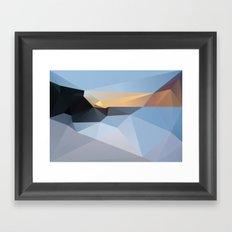 Sunrise Tamarama 2013 Framed Art Print