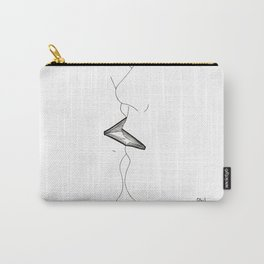 The kiss is a mute book Carry-All Pouch