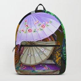 Umbrella Color Backpack