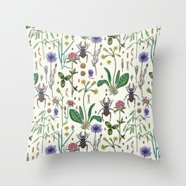 Midsummer Throw Pillow