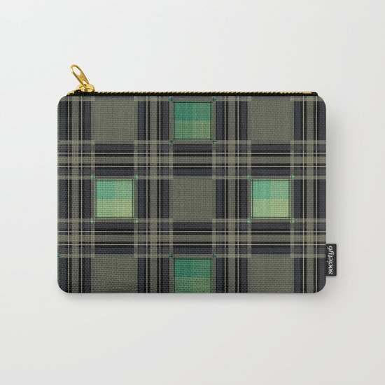 Green black nice cage . Carry-All Pouch