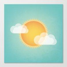 Sun in the Sky Canvas Print