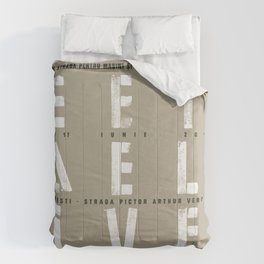 Street Delivery Comforters