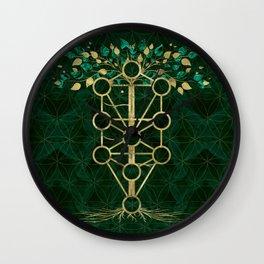 Kabbalah The Tree of Life - Etz Hayim Wall Clock