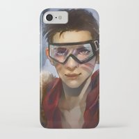 pilot iPhone & iPod Cases featuring Pilot by Shoko Lam