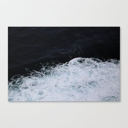 Paint like the Ocean Canvas Print