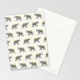 Walk like an Elephant Stationery Cards