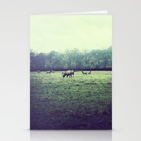 elk Stationery Cards featuring Elk by Swopes
