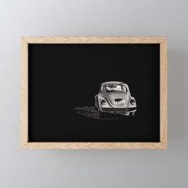 Zoom Zoom  Framed Mini Art Print