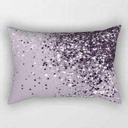 Sparkling Lavender Lady Glitter #1 #shiny #decor #art #society6 Rectangular Pillow