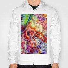 marble skull Hoody