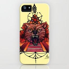 Golden State Ursus iPhone Case