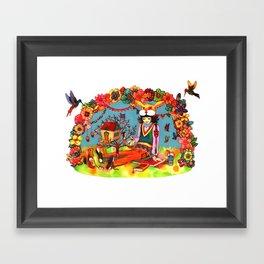 Hideaway Love Framed Art Print