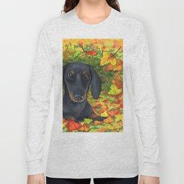 Dog 142 Dachshund Long Sleeve T-shirt