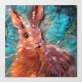 Hare I am Canvas Print