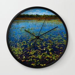 Point Pelee National Park Wetlands, ON Canada Wall Clock