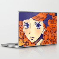 chic Laptop & iPad Skins featuring Chic by Victoria Rivero