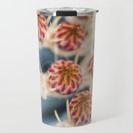 Barrel Cactus Blooms Travel Mug