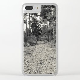 Roman road #2 Clear iPhone Case