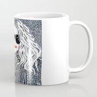 chic Mugs featuring CHIC by The Curly Whirl Girly.