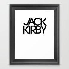 Classic : Jack Kirby Framed Art Print