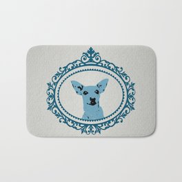 Aristocratic Mini Pinscher Bath Mat