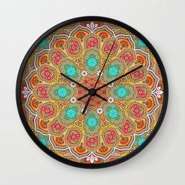 Joyful Harmony Wall Clock