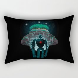 Night Castle in the Sky Rectangular Pillow