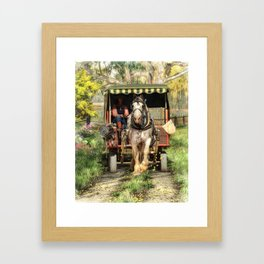 Take Me Home Country Road Framed Art Print