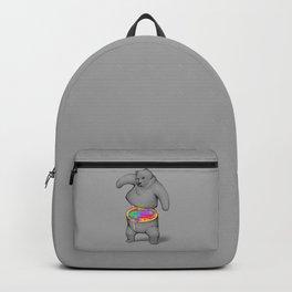 Rainbow Bear Backpack