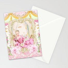 Marie Antoinette Rococo splendour Stationery Cards