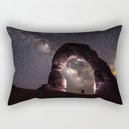 Watching stars Rectangular Pillow