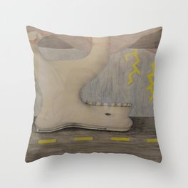 Life with TMJ Throw Pillow