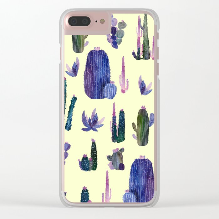My best cactus New version!! Clear iPhone Case