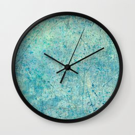 Beautiful, Wounded, Scarred Wall Clock
