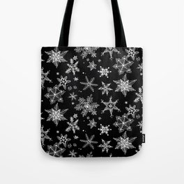 Snow Flakes 07 Tote Bag
