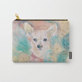 """The Rare """"Chihuahua"""" Cactus Carry-All Pouch"""