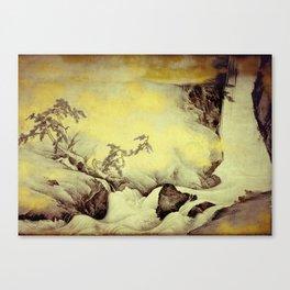 A Golden Winter Canvas Print