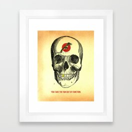 self titled Framed Art Print