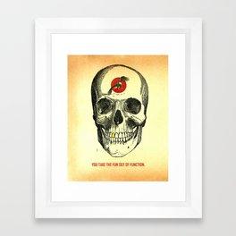 self titled Framed Art Print